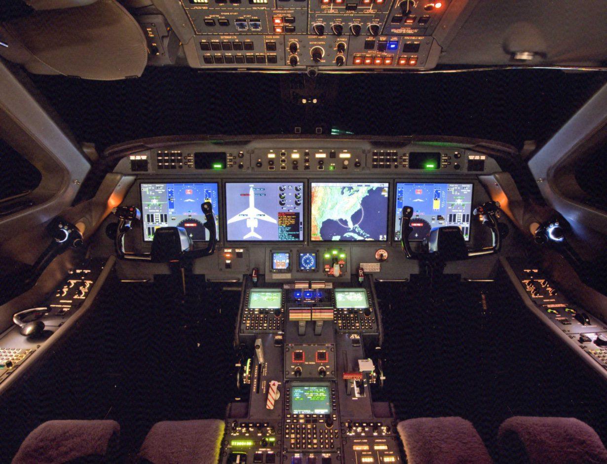 Este jet hará varios vuelos cruzados a través de la Patagonia sur, sobre los Andes y sobre la península antártica.
