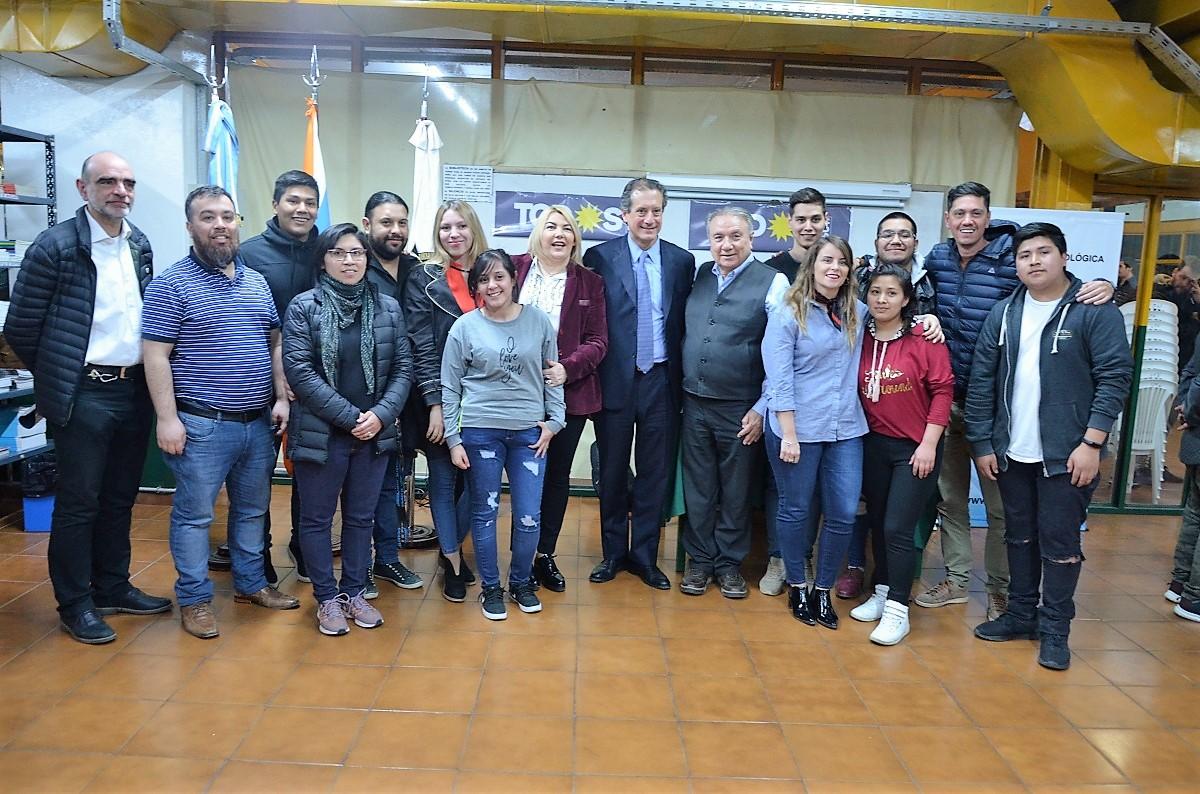 La jornada estuvo organizada por la Secretaría de Extensión Universitaria de la UTN y la Agrupación 19 de Agosto de la Facultad Regional Tierra del Fuego.