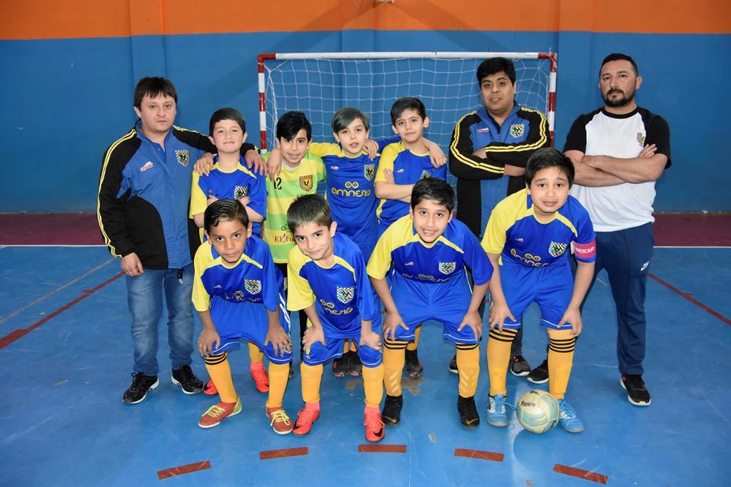 El equipo de Real Madrid, categoría C-11.